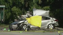 Tres personas muertas y un herido, lo que deja un accidente en el suroeste de Miami-Dade