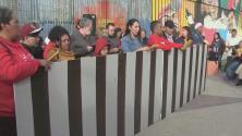Sin la participación de representantes de EEUU, se realizó la tradicional Posada Sin Fronteras