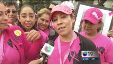Caminata contra el cáncer de seno en Sacramento