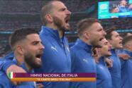 ¡Calientito desde los himnos! Abucheos para Italia en Wembley
