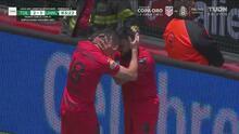 ¡Se repone el goleador! Alexis Canelo marca el 2-1 con un cañonazo