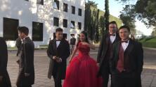 Lucero, la primera quinceañera que usa la residencia presidencial de los Pinos para su sesión de fotos