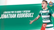 Oficial: Jonathan Rodríguez ya es refuerzo de Cruz Azul