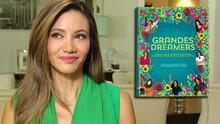 Argelia Atilano llora al contar cómo su hija Camila la inspiró a escribir su libro 'Grandes Dreamers'