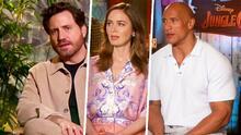 Emily Blunt, Dwayne Johnson y Edgar Ramírez protagonizan 'Jungle Cruise', la nueva cinta de Disney
