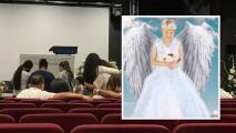 """""""Mi hija ya está en un mejor lugar, ya no sufre"""": se lleva a cabo funeral de Gigi Morél en Houston"""