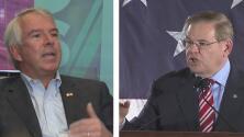 'Tiempo de Debate': ¿Podrá Bob Hugin vencer a Bob Menéndez y quitarle su puesto en el Senado?