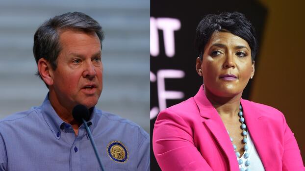 Kemp responde a Bottoms tras mandato de uso obligatorio de mascarilla en Atlanta