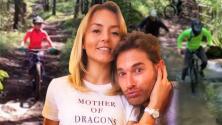"""""""Mi vida, por favor, no me grabes"""": el ruego de Angelique Boyer que Sebastián Rulli ignoró en su viaje familiar"""