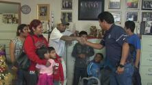 Familia de 10 hijos lo perdió todo en un incendio pero un televidente les devolvió la ilusión