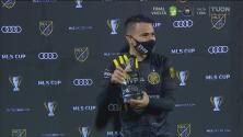 Lucas Zelarayán se lleva el trofeo al MVP de la MLS Cup 2020