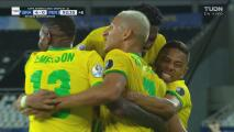 ¡Goleada! Richarlison finiquita la obra de Brasil con el 4-0