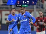 Con voltereta de alarido, Atleti derrotó al AC Milan en juegazo
