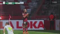 ¡Gol de los Diablos! Alexis Canelo dispara y pone el 1-0