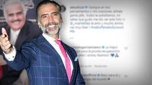 Alejandro Fernández enternece con un emotivo mensaje para su padre Vicente Fernández
