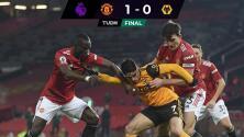 Manchester United vence al Wolverhampton en su último duelo del 2020