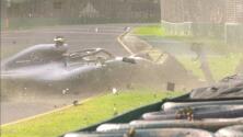 Impactante: Valtteri Bottas destrozo su monoplaza a un día del GP de Australia