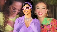 Cardi B celebra a lo grande su cumpleaños con Anitta y las hijas de 'El Buki' entre los invitados