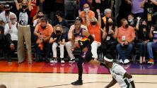 Chris Paul y los Suns doman a los Bucks en el Juego 1