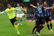Dortmund vence al Sporting sin Haaland; Brujas le remonta al Leipzig