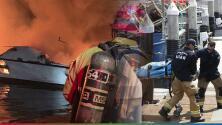 Incendio en bote recreacional en California deja hasta el momento 25 muertos