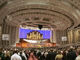 Conferencia general la iglesia regresa a su auditorio pero aún no recibirá público