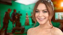 Lindsay Lohan regresa a la actuación en una comedia romántica tras alejarse por el acoso de los paparazzi