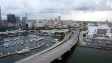 Calor y cielo parcialmente nublado para este jueves en Miami