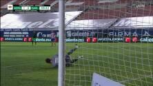 ¡TIRO ATAJADO! disparo por Ronaldo Prieto.