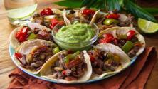 Rosca de tacos de alambre ¡para el Día del Taco!