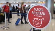 Estados Unidos duplicará las multas a los viajeros que infrinjan el uso de mascarillas