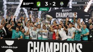 León es campeón de la Leagues Cup... ¡su primer título internacional!