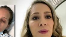 """""""Me voy a morir"""": Gaby Carrillo revela que fue operada de emergencia durante las grabaciones de Si Nos Dejan"""