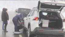 Tormenta de nieve provoca el cierre de caminos en el Valle Central