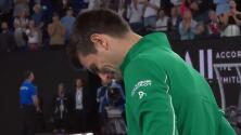 Djokovic rompe en llanto al recordar a Kobe Bryant