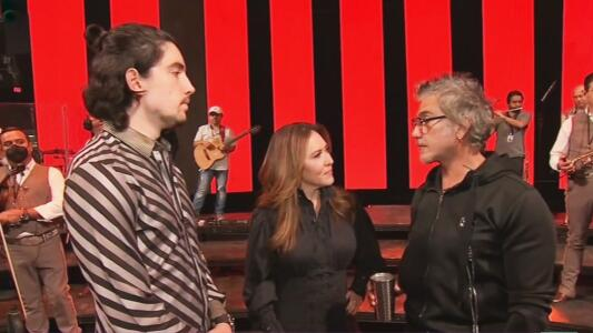 """""""En el escenario somos contrincantes"""": así prepara Alejandro Fernández a su hijo antes de presentarse en Las Vegas"""