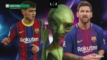 ¿Qué chin… estaba pensando? Laporta confundió a Pedri con Messi