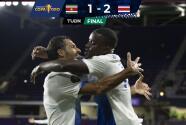 Costa Rica remonta y supera 1-2 a Surinam en Copa Oro