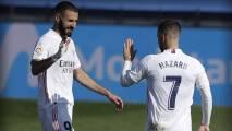 Benzema y Carvajal, en la convocatoria del Real Madrid para el Clásico