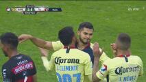 Henry Martín convirtió el 3-0 de América sobre Xolos