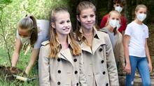 La princesa Leonor y su hermana Sofía se 'independizan' de sus padres: así fue su primer evento sin ellos