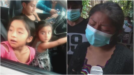 """""""Él me las quitó para matarlas"""": el llanto de una madre por sus dos hijas"""
