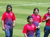 Rafa Márquez y Ronaldinho fueron parte del último once previo a la era Messi