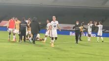 Desde la cancha: así celebró Pumas el triunfo ante Cruz Azul