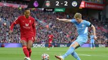 ¡Partidazo! Liverpool y Manchester City empatan en Anfield