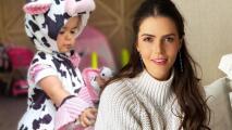Claudia Álvarez revela por qué su hija Kira aprende chino mandarín y la disciplina que le inculca