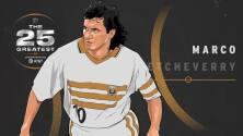 """The 25 Greatest:  Marco """"El diablo"""" Etcheverry dejó huella imborrable para los latinos en la MLS"""