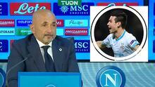 """El recuerdo amargo del DT del Napoli sobre Chucky: """"Me echó"""""""