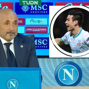 Nuevo DT de Napoli recuerda a 'Chucky' Lozano de forma amarga