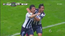 Juan Portales pone el de 2-1 de Monterrey sobre los Bravos